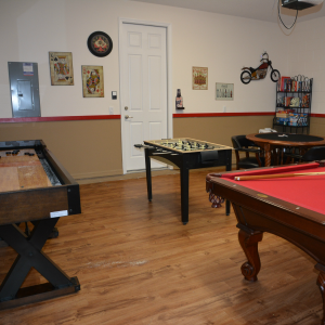 Vacation Rental Game Room