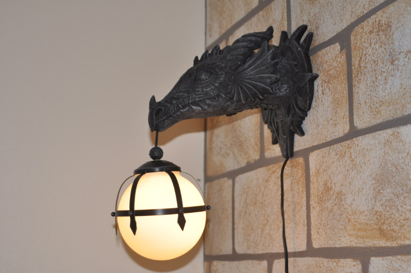 Dragon Light Harry Potter Room