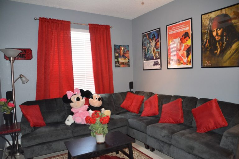 Medai Room with Micky and Minnie