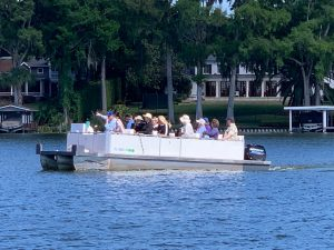Scenic Boat Tour in Winter Park