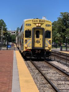 Sun Rail in Winter Park